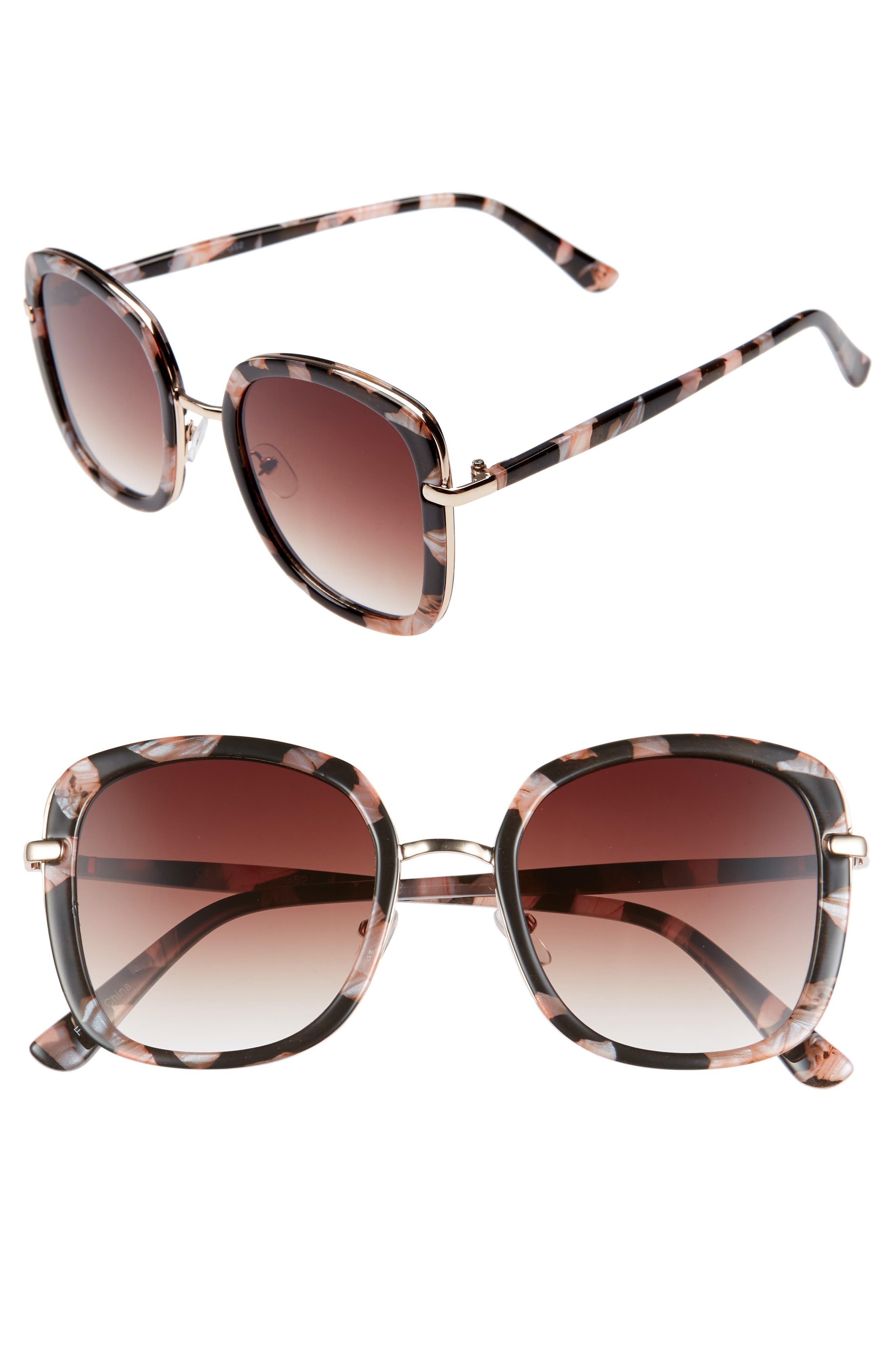 Sale Leith 50mm Square Sunglasses