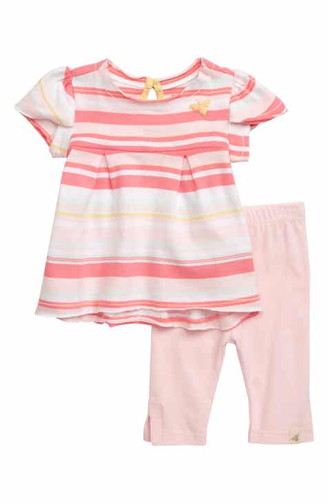 bbf910d77 Burt's Bees Baby Vintage Stripe Organic Cotton Tunic & Leggings Set (Baby)