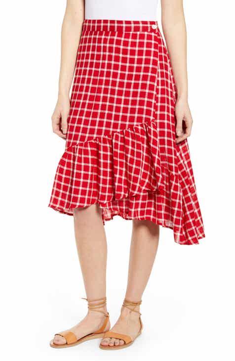 763d685c00 Rails Lizzy Asymmetrical Ruffle Hem Skirt