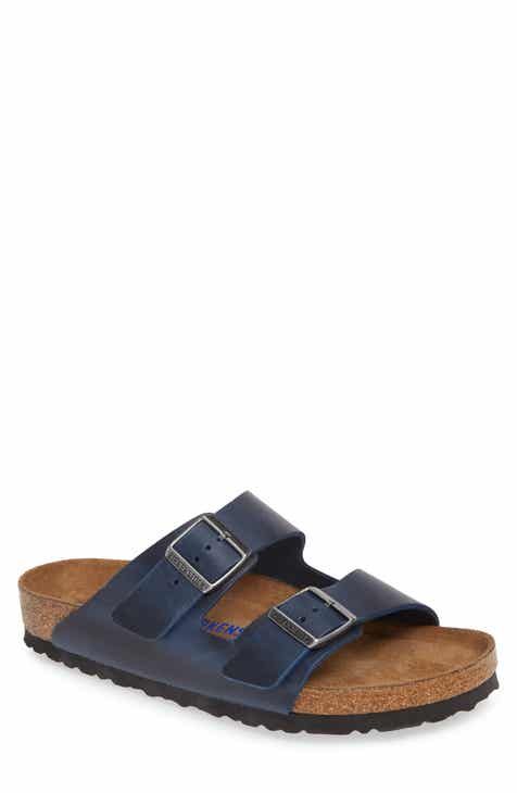 51b28cf96 Birkenstock Arizona Soft Slide Sandal (Men)