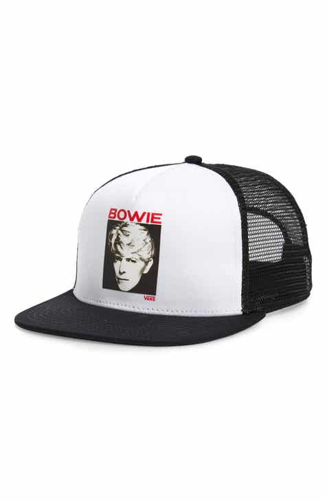 777ce31c9e1e40 Vans x David Bowie Serious Moonlight Trucker Hat