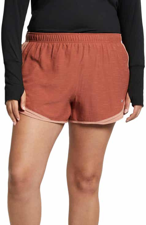 Nike Dry Tempo High Rise Running Shorts (Plus Size) by NIKE