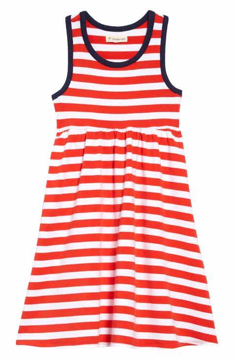 5cbfb9ebb37 Tucker + Tate Racerback Stripe Dress (Toddler Girls