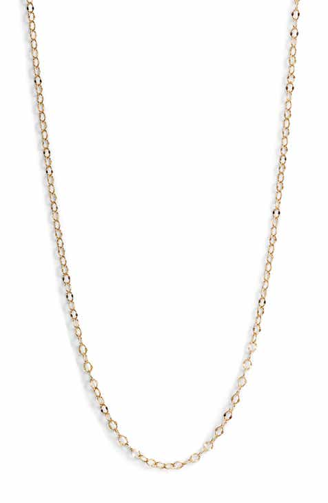 660a46fcb Bony Levy Open Link Chain Necklace (Nordstrom Exclusive). $175.00. Product  Image. WHITE GOLD
