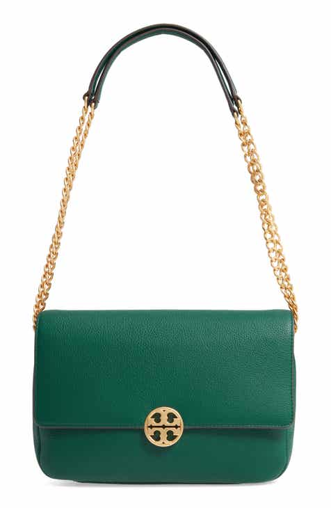 21b38dcb49 Tory Burch Chelsea Leather Shoulder/Crossbody Bag