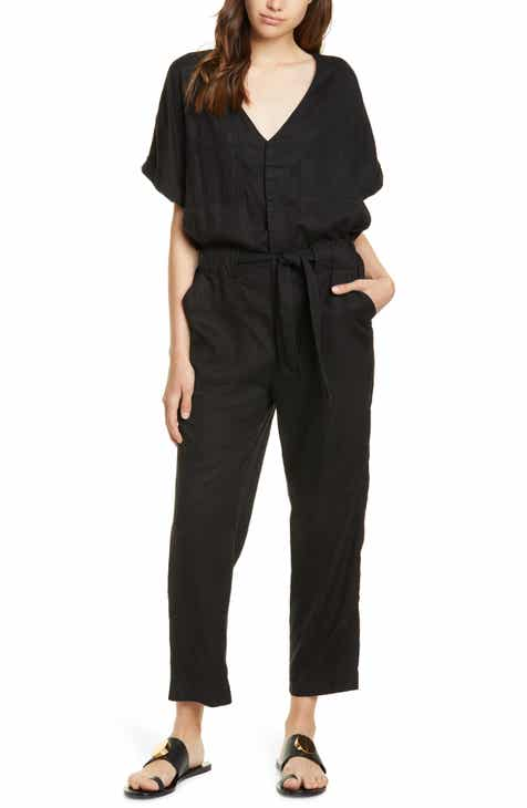 0b01a6f97 Joie Frodina Short Sleeve Lyocell Jumpsuit