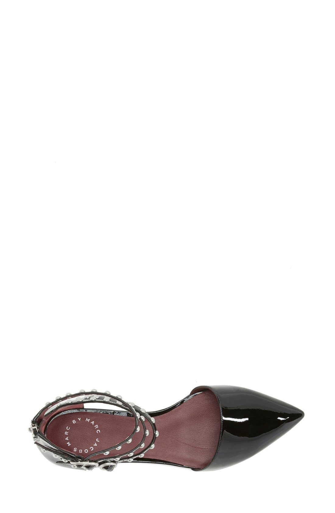 Alternate Image 3  - MARC BY MARC JACOBS 'Minetta' Ankle Strap Flat (Women)