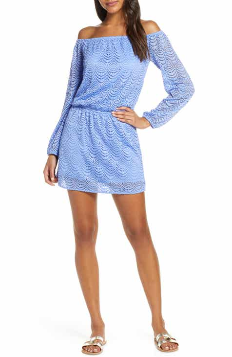 7d0577848c2 Lilly Pulitzer® Lana Off the Shoulder Lace Skort Romper