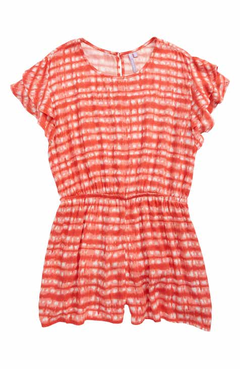 4779dc8e869 Good Luck Girl Print Romper (Big Girls)