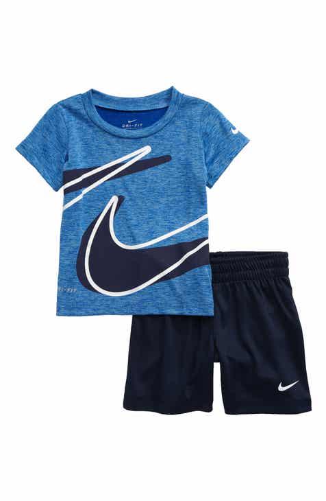 f7f86578a Nike Dry Dropset T-Shirt & Shorts Set (Baby)