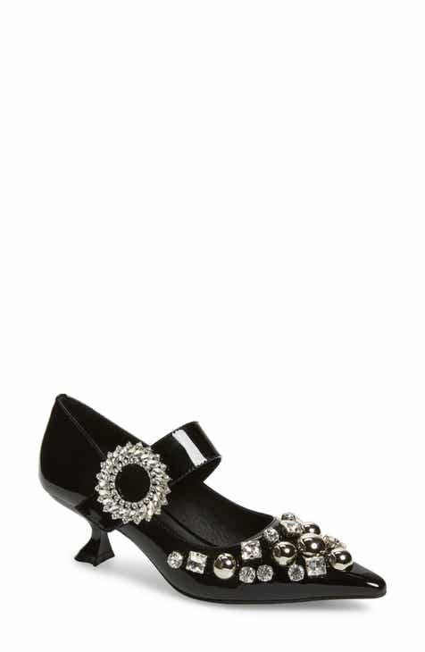 e0dfb4b0af Jeffrey Campbell Otelia Crystal Embellished Pump (Women)