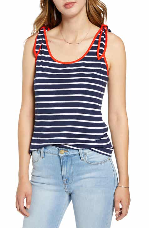 879a4a399e7d5b 1901 Tie Shoulder Tank Top (Regular & Petite)