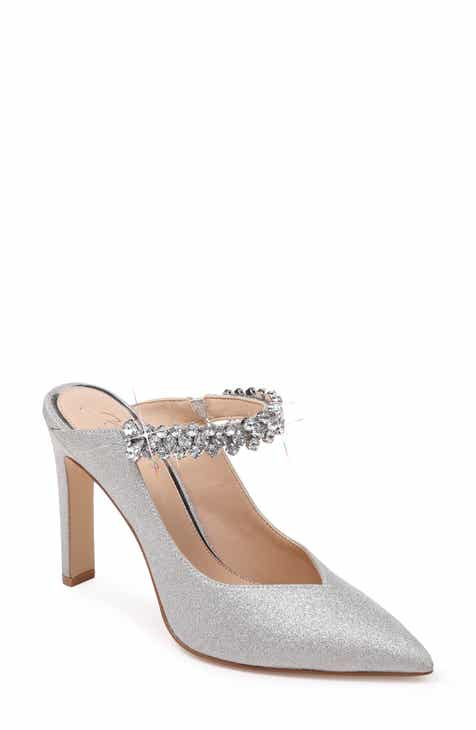 88d6958675f9 Jewel Badgley Mischka Stella Crystal Mule Pump (Women). $108.95. Product  Image. Previous. SILVER LEATHER