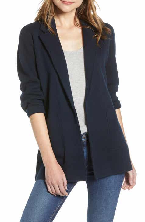 af42464315038 J.Crew Sophie Open Front Sweater Blazer (Regular & Plus Size)