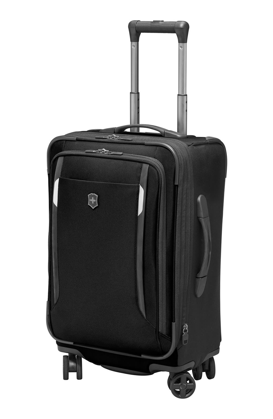 WT 5.0 Dual Caster Wheeled 22-Inch Carry-On,                             Alternate thumbnail 5, color,                             Black