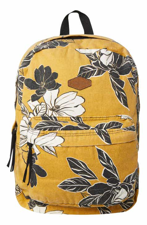d9c415800 O'Neill Blazin Floral Print Canvas Backpack