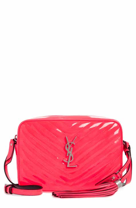 5272431fdb Saint Laurent Lou Matelassé Leather Crossbody Bag
