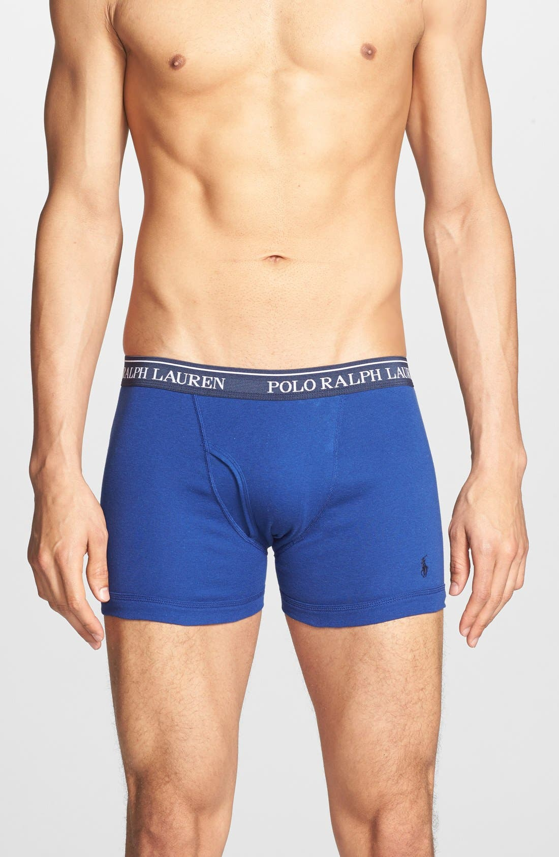 Polo Ralph Lauren Assorted 3-Pack Boxer Briefs