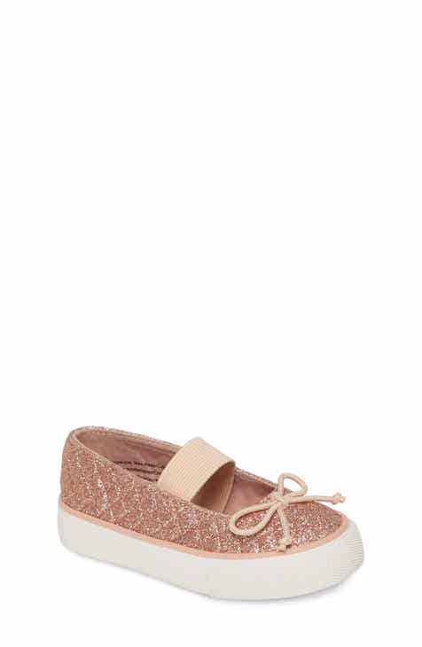 e7958cae8b2a Tucker + Tate Quilted Glitter Mary Jane Sneaker (Walker, Toddler & Little  Kid)