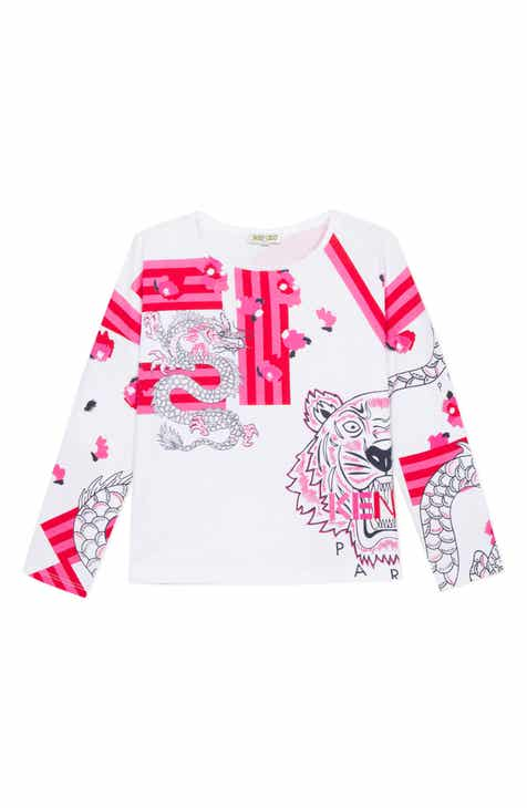 aeee25c52836 KENZO Iconic Dragon Graphic Tee (Toddler Girls, Little Girls & Big Girls)