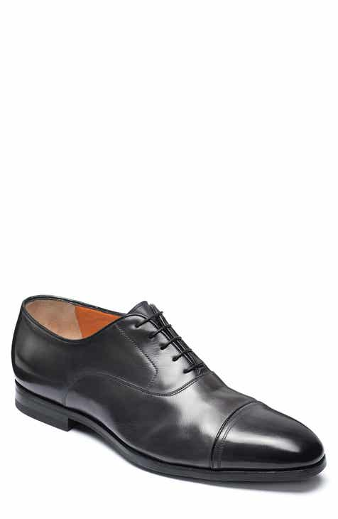 Santoni Nicolo Cap Toe Oxford (Men)