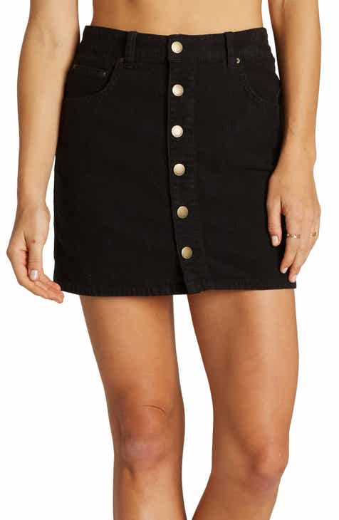 879b570e7a Billabong Good Life Corduroy Miniskirt