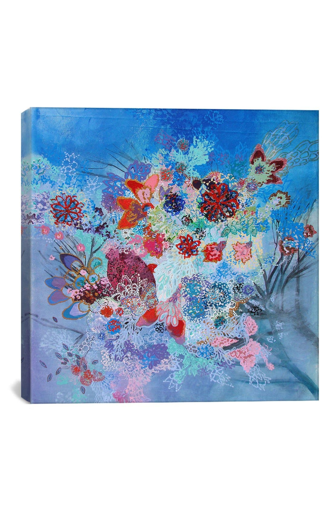 'Flotar en el fondo - Lia Porto' Giclée Print Canvas Art,                         Main,                         color, Blue