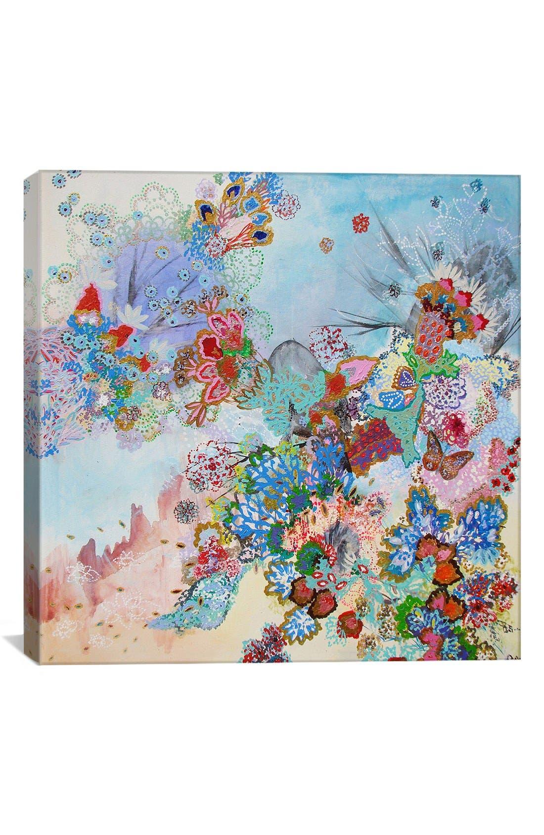 'Ave Fenix - Lia Porto' Giclée Print Canvas Art,                             Main thumbnail 1, color,                             Blue