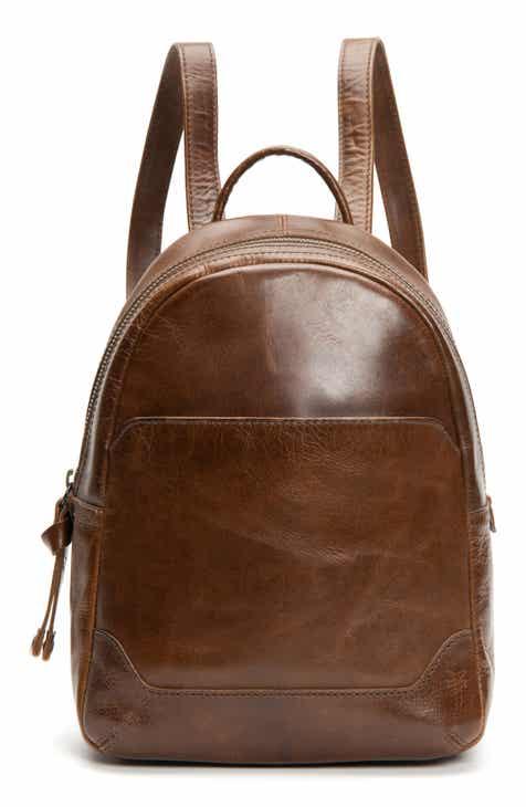 0db4f11e97b13f Frye Medium Melissa Calfskin Leather Backpack. $348.00. Product Image. DEEP  RED; BLACK