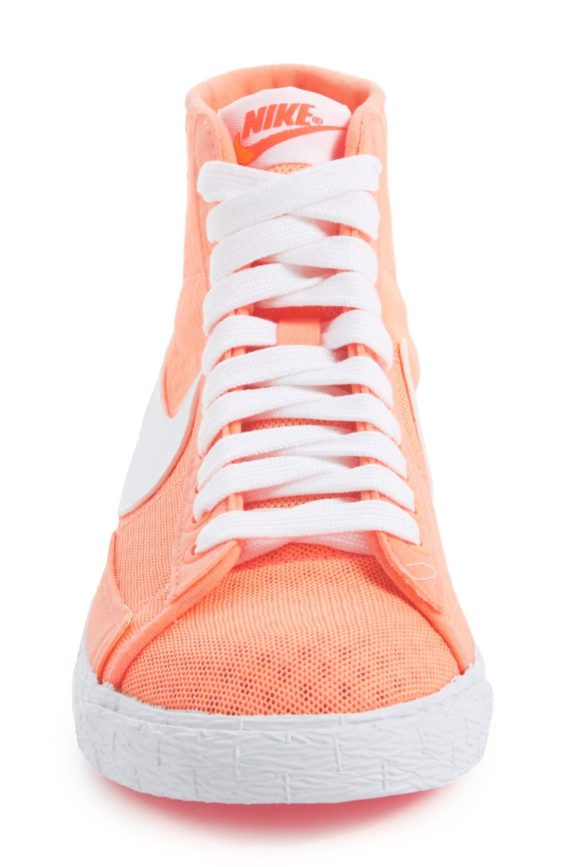 Alternate Image 4  - Nike 'Blazer' Vintage High Top Mesh Sneaker (Women)