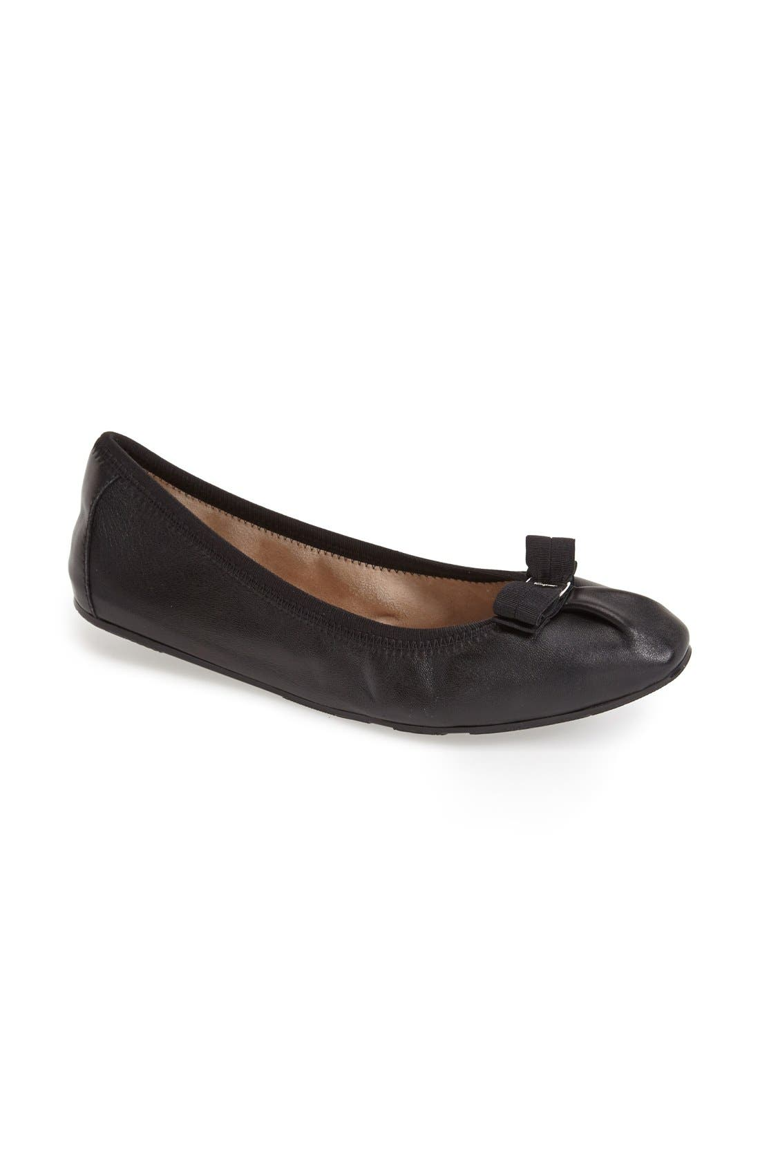 Alternate Image 5  - Salvatore Ferragamo Skimmer Flat (Women)