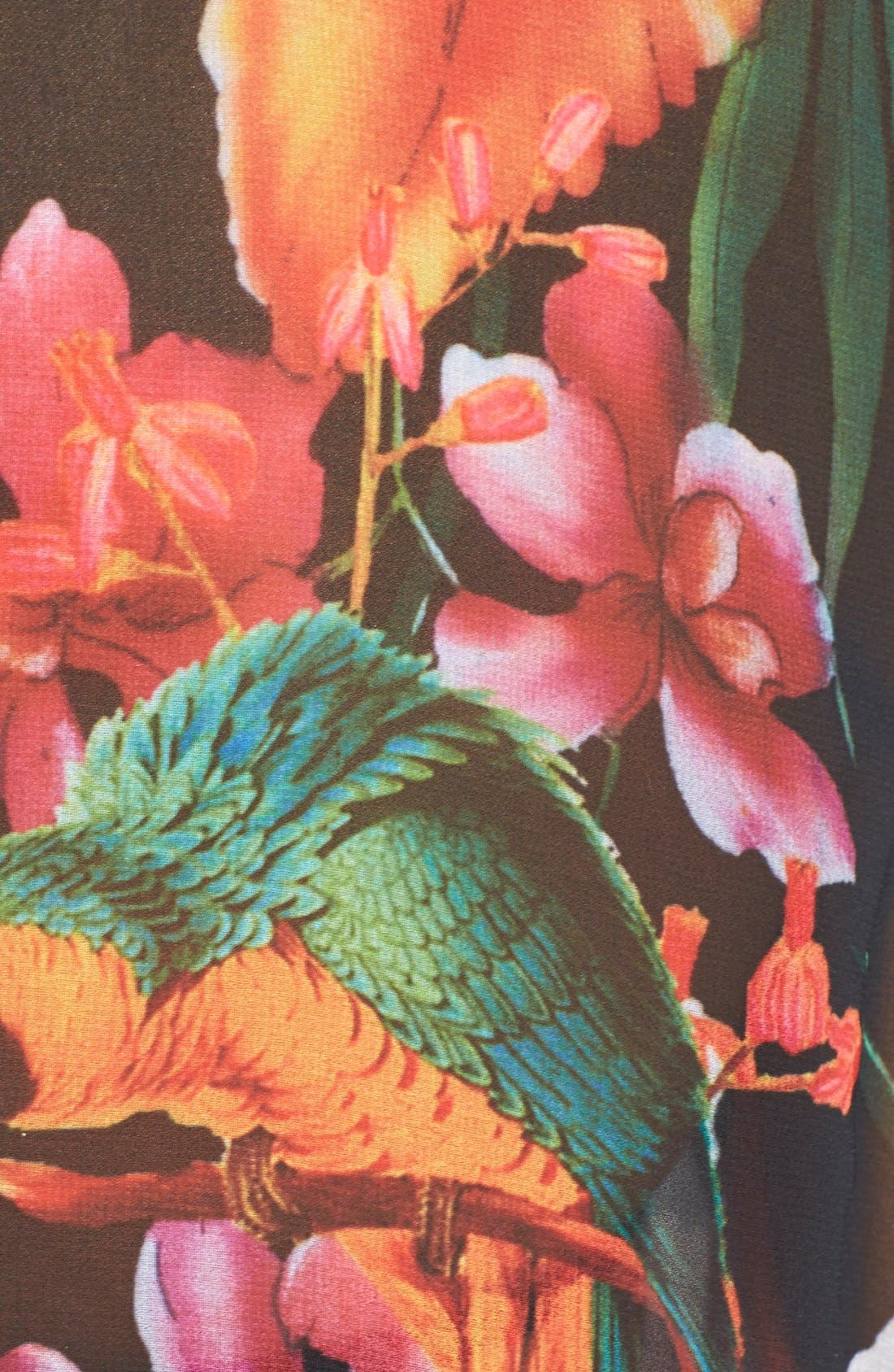 Alternate Image 3  - Ted Baker London 'Tropical Toucan' Cover-Up Tunic