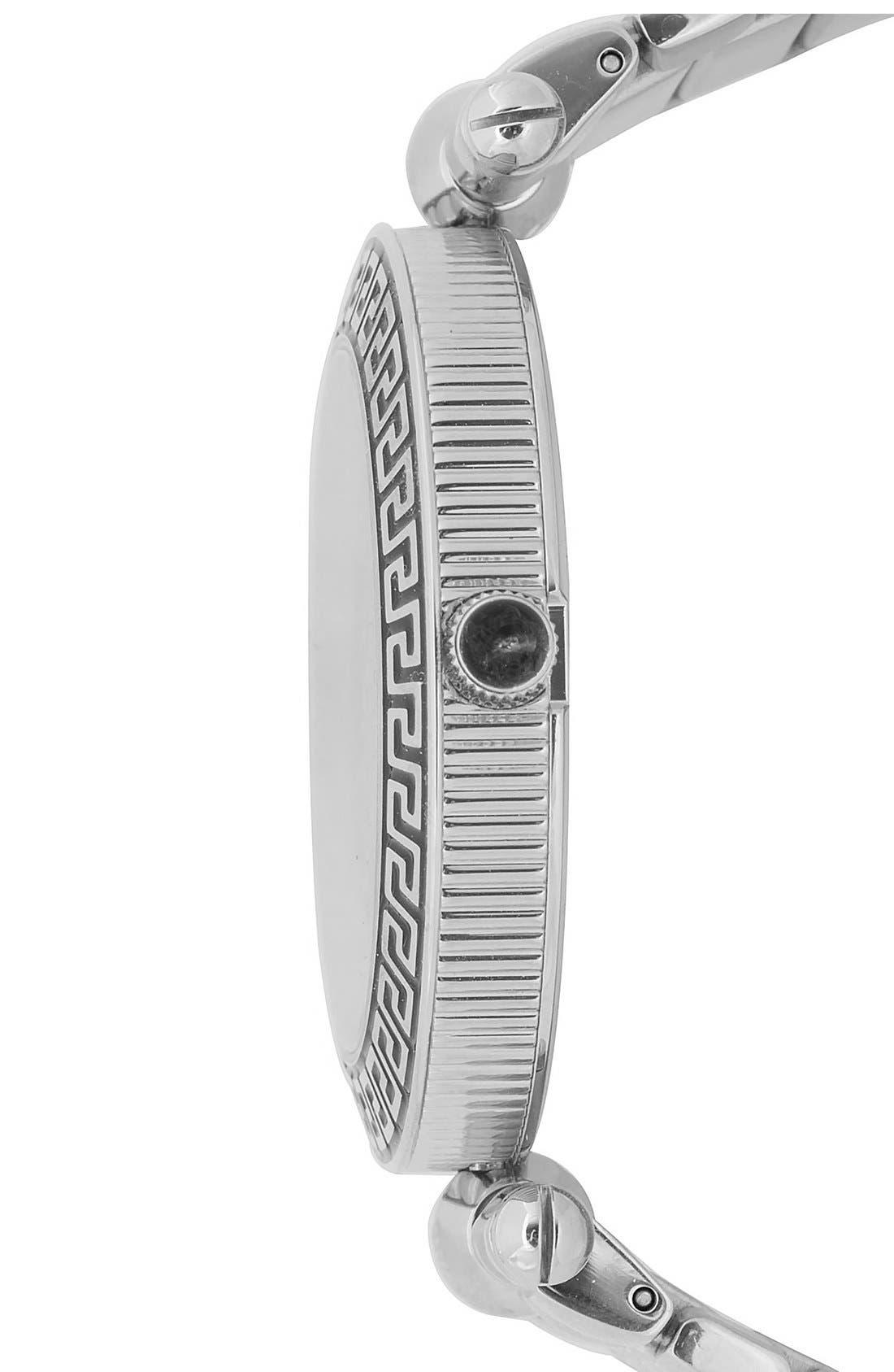 Alternate Image 3  - Versace 'Vanitas' Quilted Bracelet Watch, 40mm
