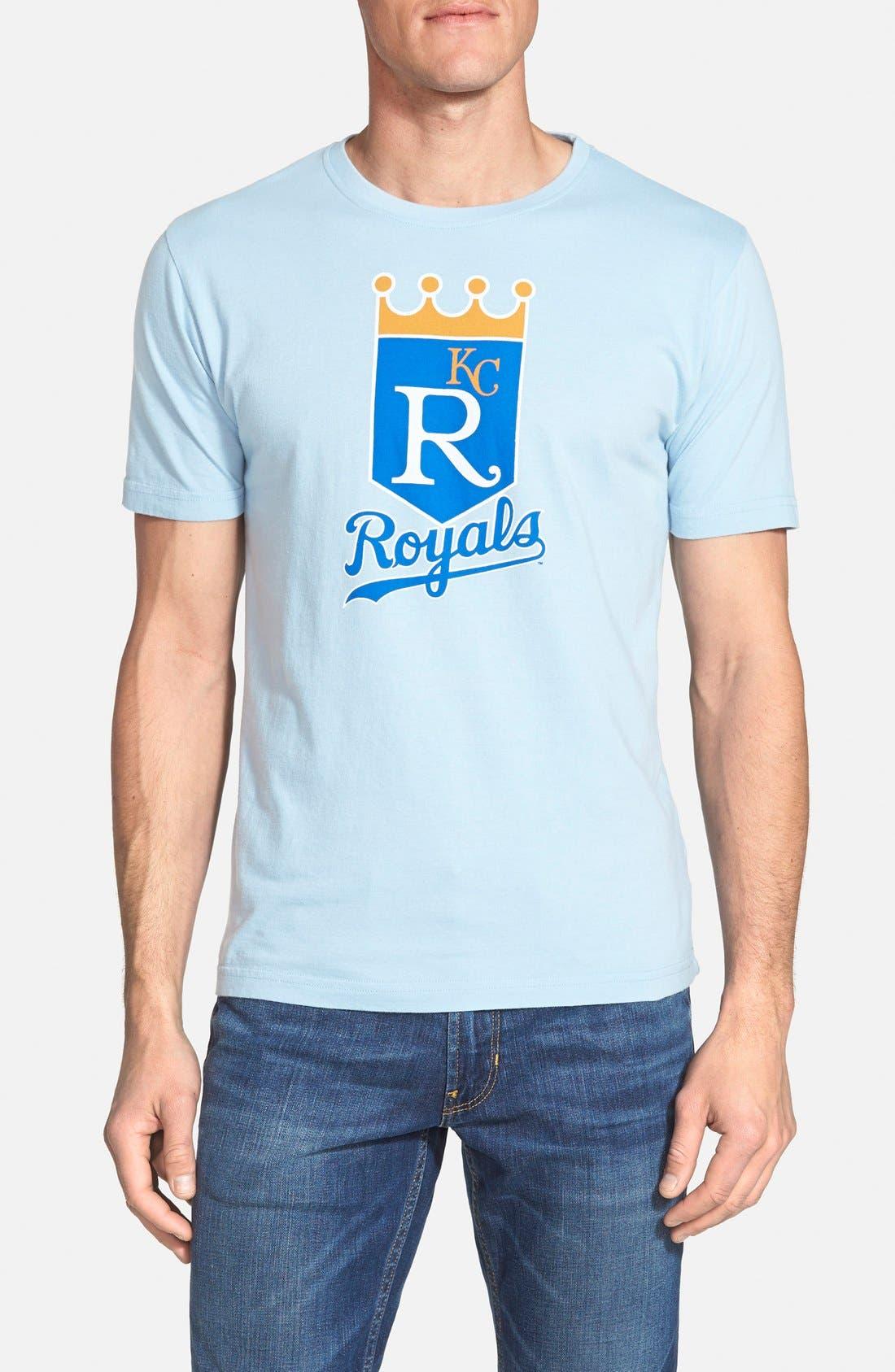 'Kansas City Royals - Brass Tacks' T-Shirt,                         Main,                         color, Light Blue
