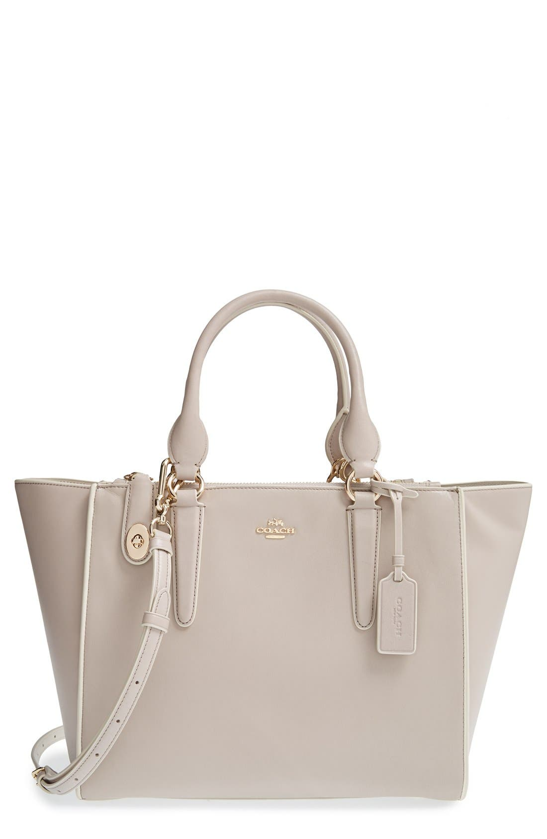 Alternate Image 1 Selected - COACH 'Crosby' Leather Tote