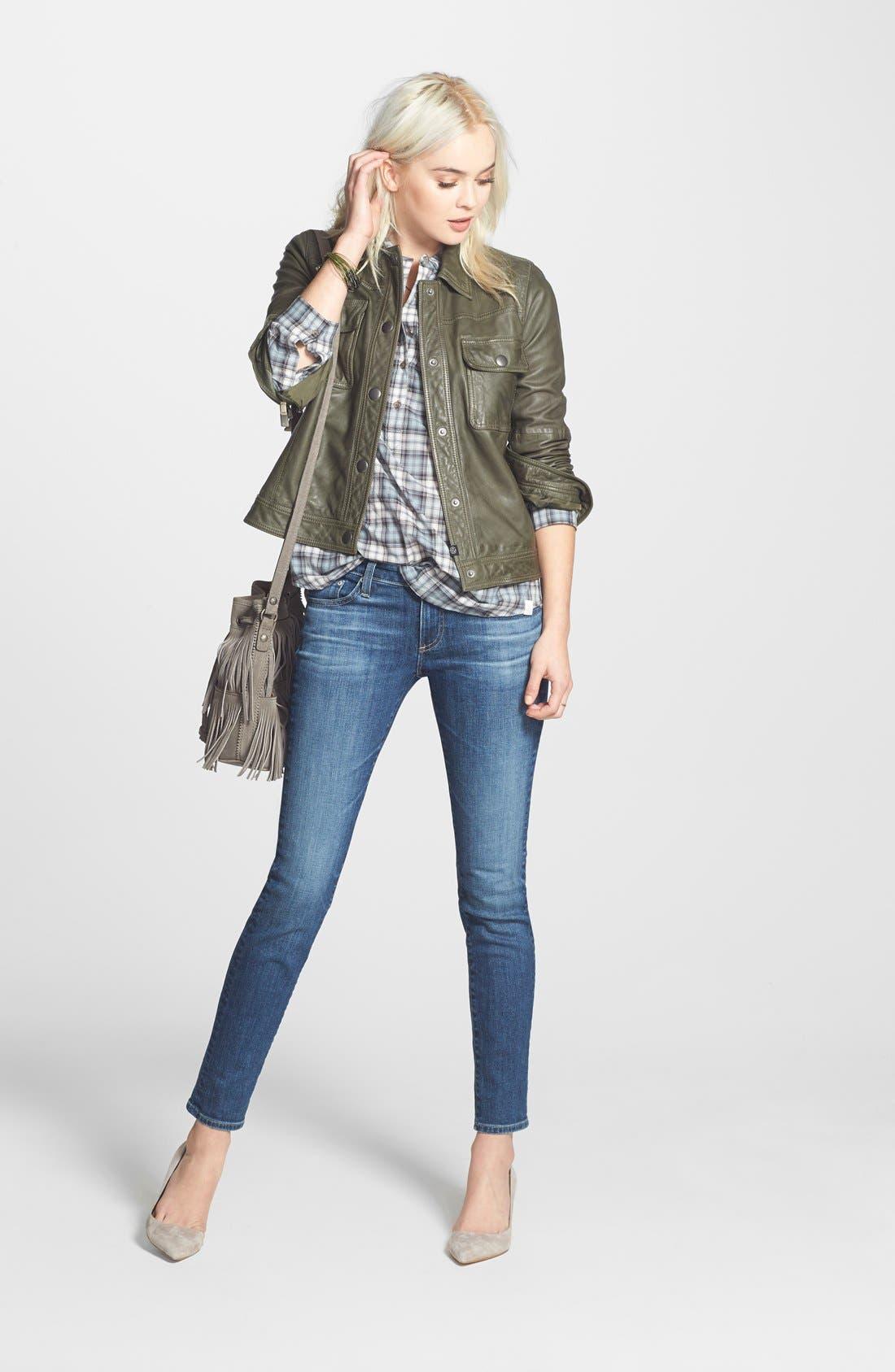 Alternate Image 5  - AG 'The Stilt' Cigarette Leg Jeans (Four Year Dreamer) (Nordstrom Exclusive)