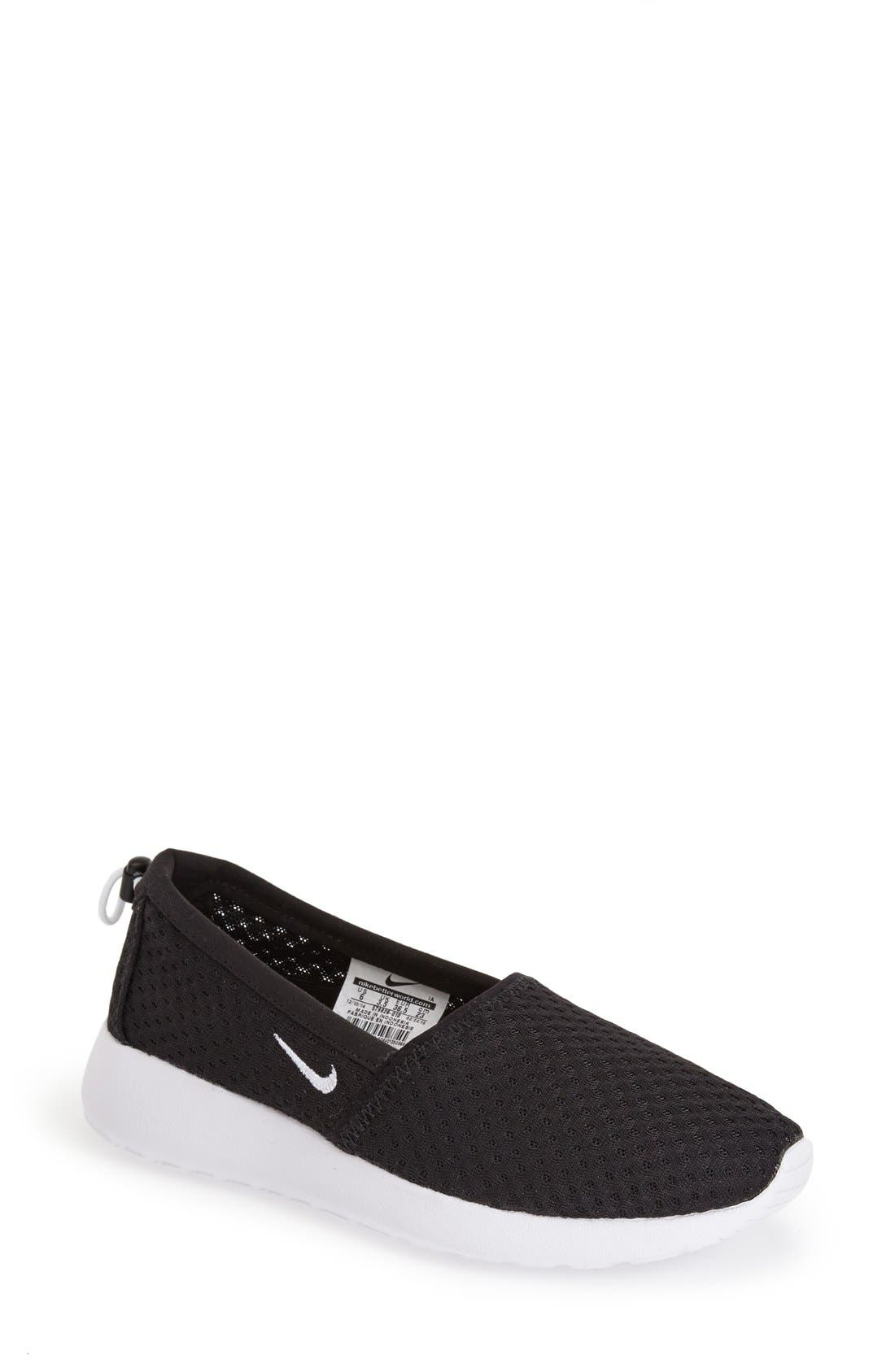 nike roshe run slip on women's