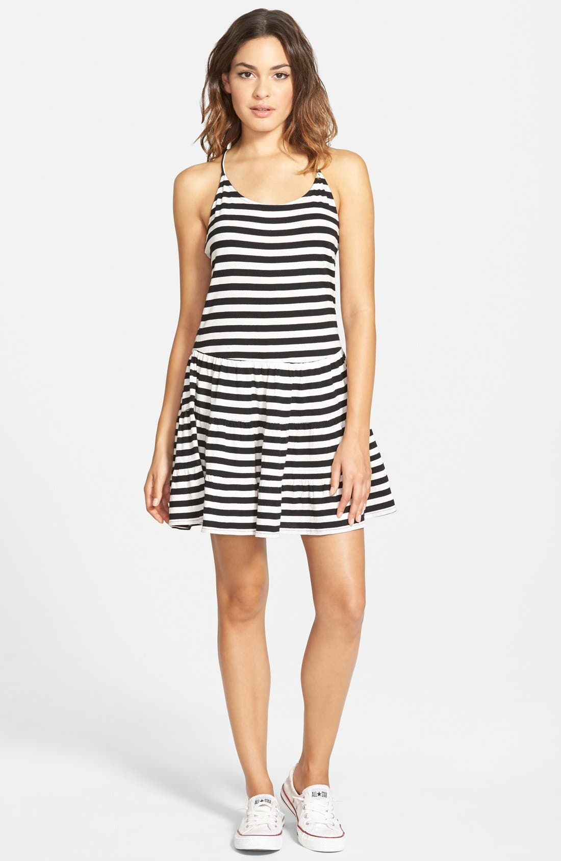 Main Image - Volcom 'Poison Arrow' Swing Dress