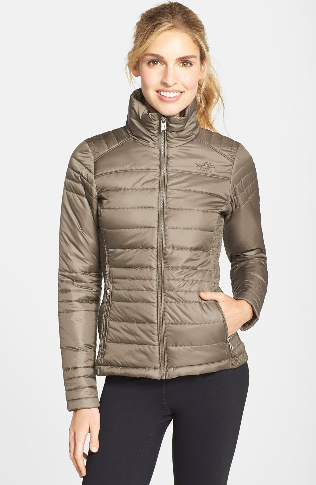 Alternate Image 1 Selected - The North Face 'Aleycia' Insulated Jacket (Nordstrom Exclusive)
