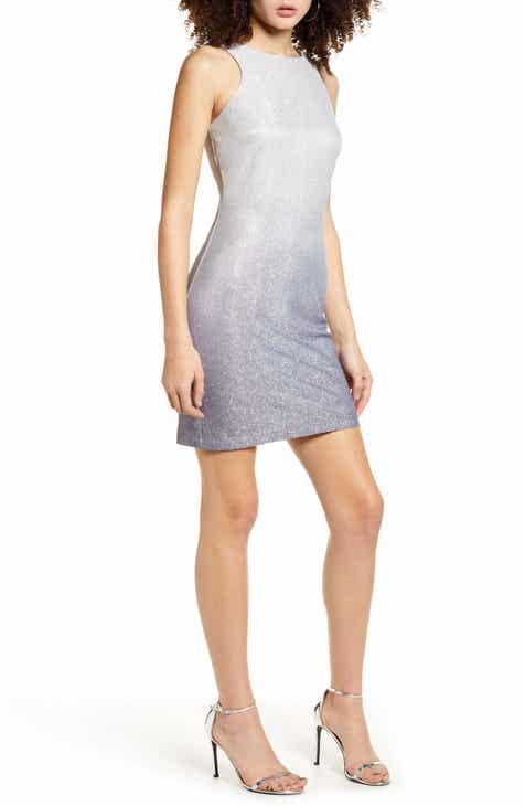 Speechless Glitter Knit Body-Con Dress