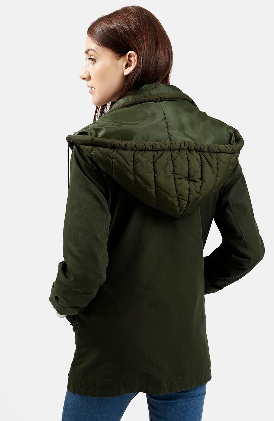 Alternate Image 2  - Topshop 'Kiora' Jacket