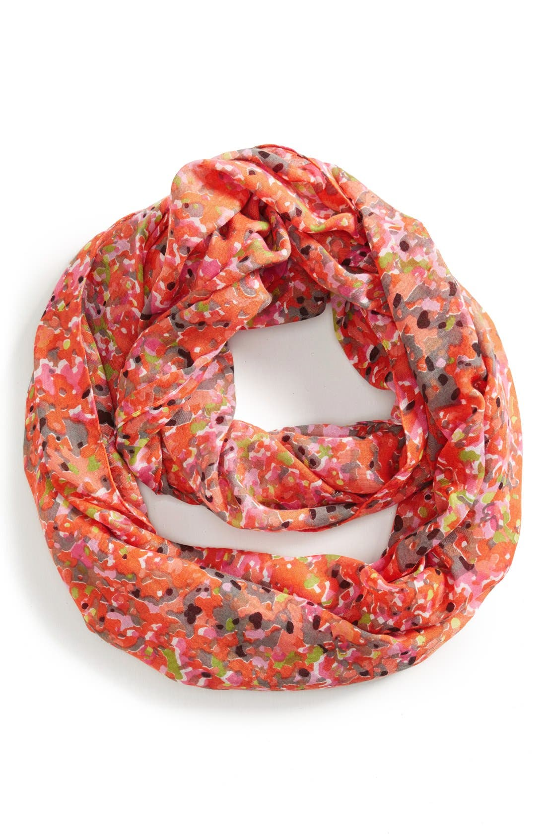 Alternate Image 1 Selected - Sole Society Dot Print Infinity Scarf