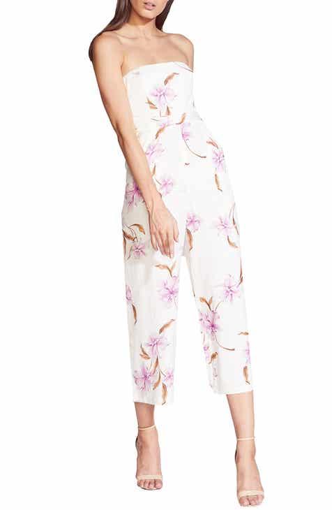 Bardot Strapless Crop Jumpsuit