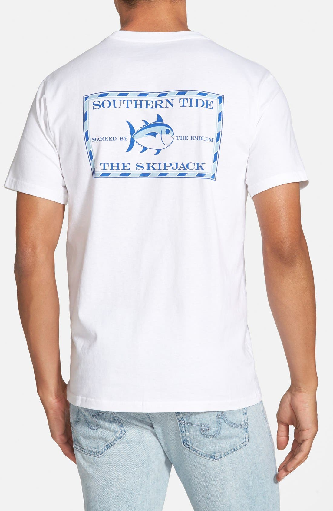 SOUTHERN TIDE SHORT SLEEVE SKIPJACK T-SHIRT