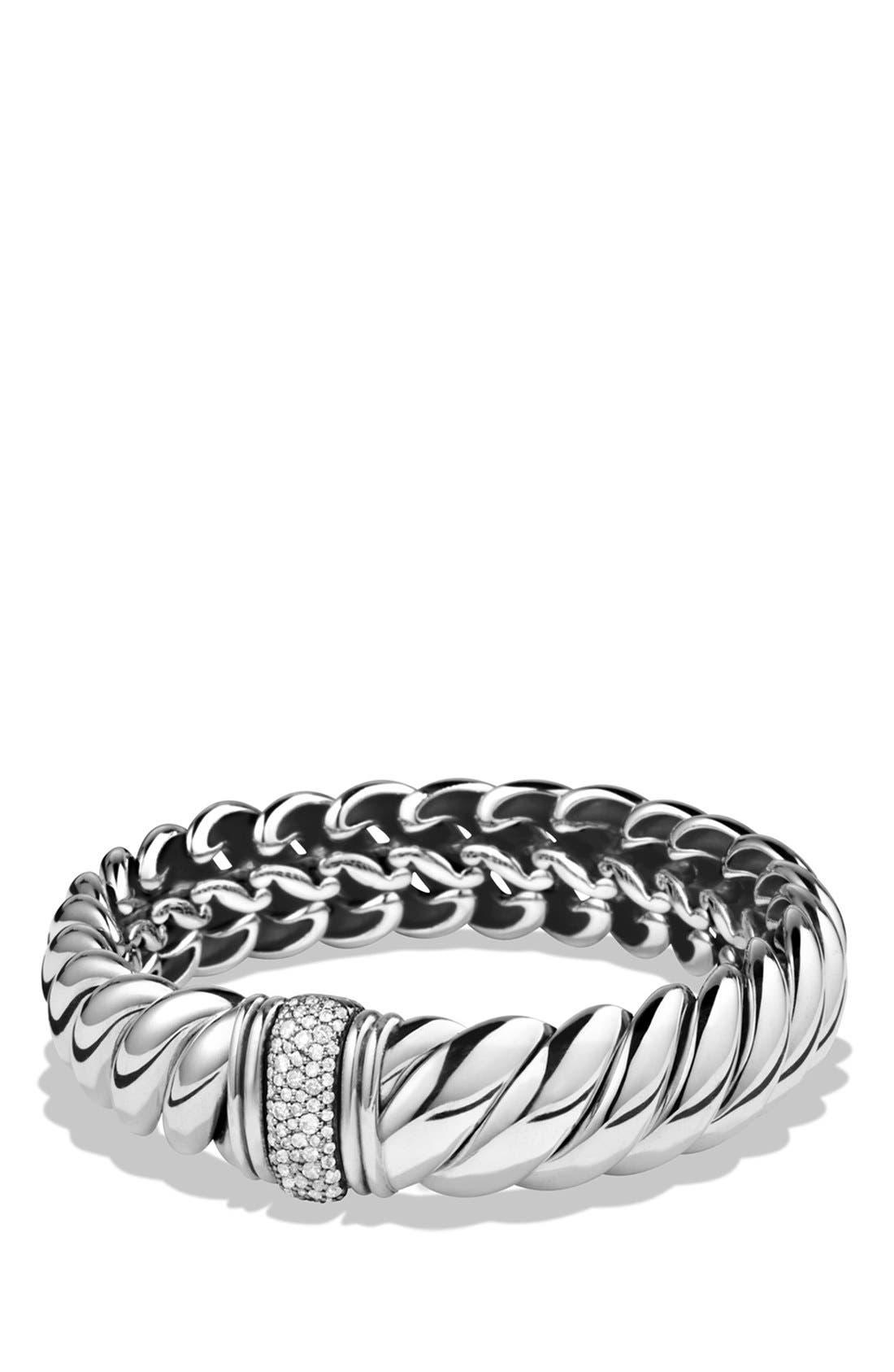 Alternate Image 2  - David Yurman 'Hampton' Bracelet with Diamonds