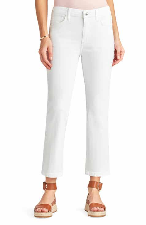 Sam Edelman The Stiletto Crop Bootcut Jeans (Ixora)