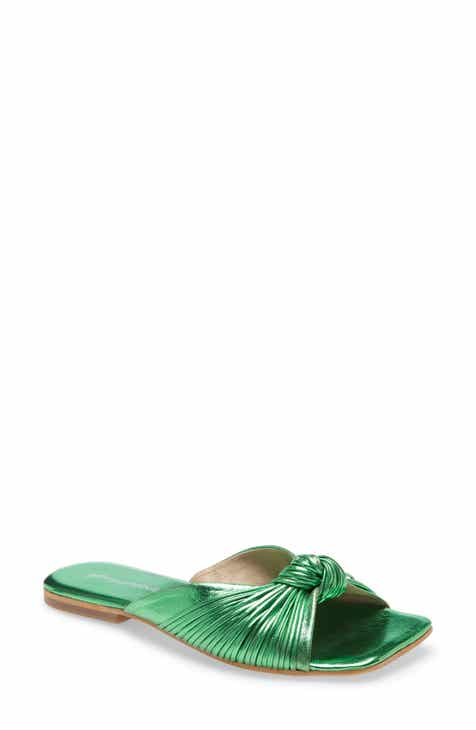 Jeffrey Campbell Knaughty Slide Sandal (Women)