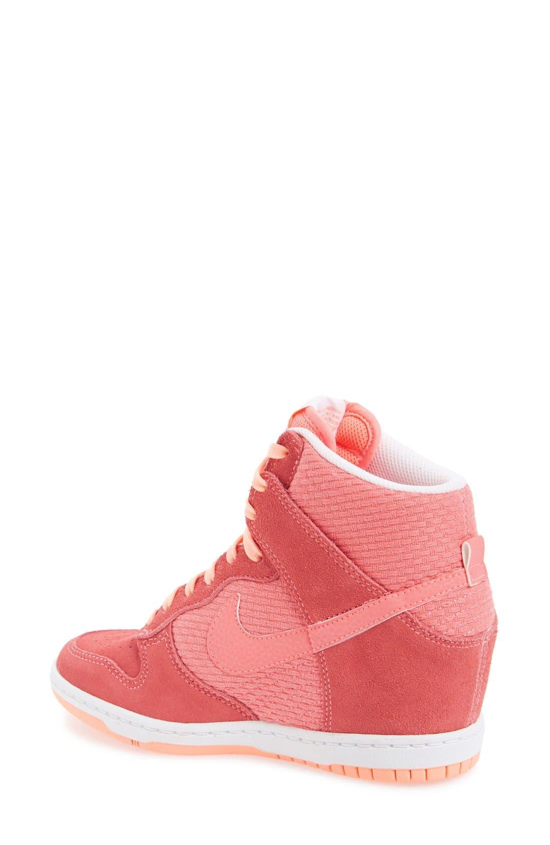 Alternate Image 5  - Nike 'Dunk Sky Hi - Essential' Wedge Sneaker (Women)