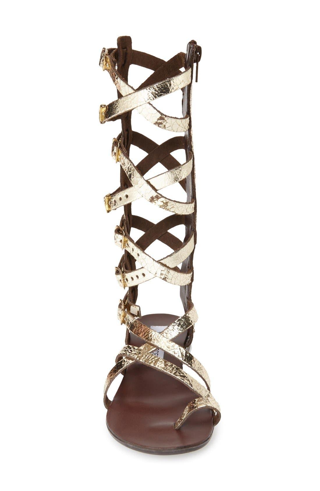 Alternate Image 3  - Steve Madden 'Rivaal' Tall Gladiator Sandal (Women)