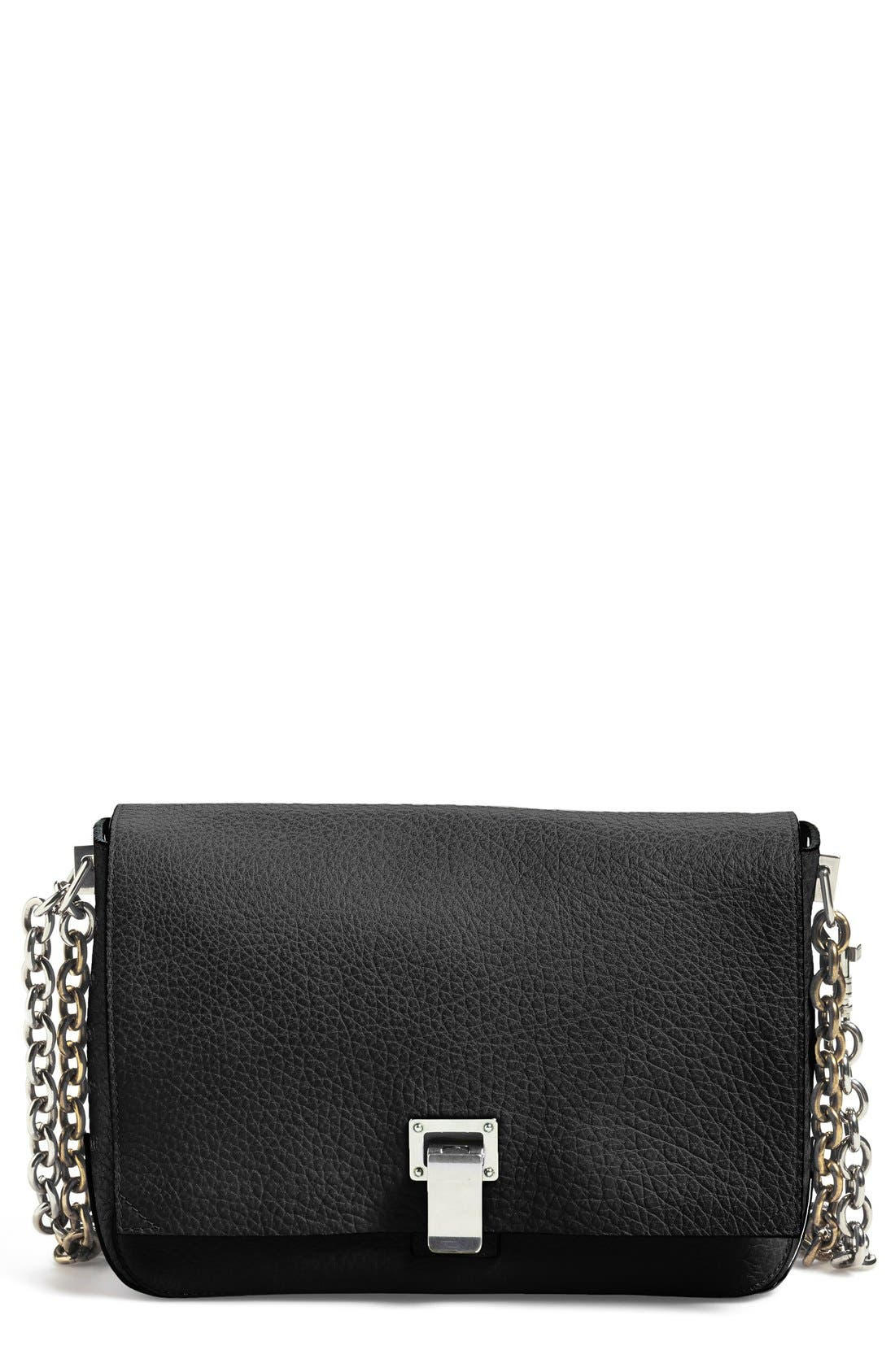 Main Image - Proenza Schouler 'Small Courier' Pebbled Leather Crossbody Bag